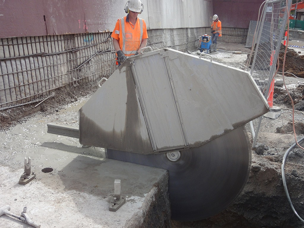 Wall Sawing Services : Wall sawing sydney concut nsw